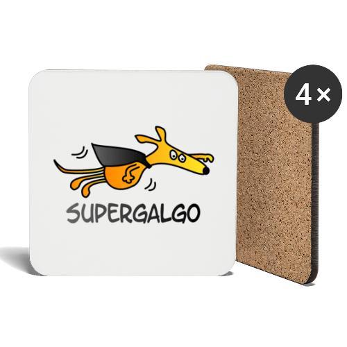 Supergalgo - Untersetzer (4er-Set)