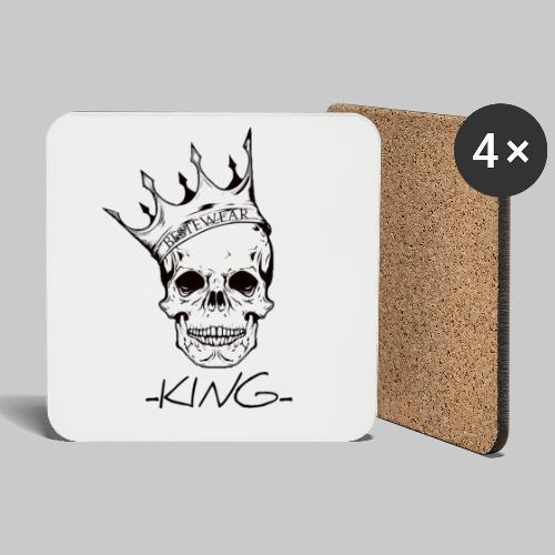 #Bestewear - King - Untersetzer (4er-Set)