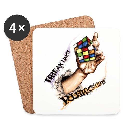 Rubik's Break Limits - Underlägg (4-pack)