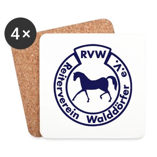RVW Logo blau - Untersetzer (4er-Set)