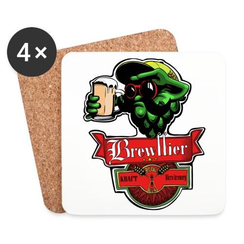 Logo Brewffier - Dessous de verre (lot de 4)