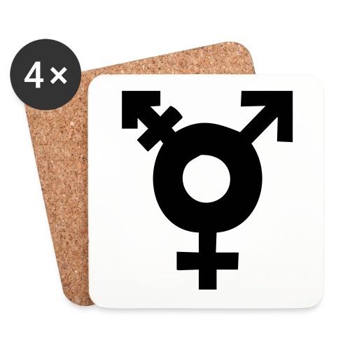 Transsymbol - Underlägg (4-pack)