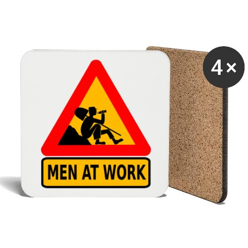 Men At Work - Untersetzer (4er-Set)