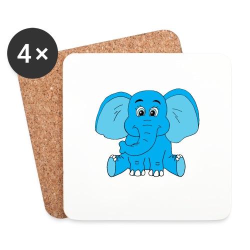 Baby Elefant - Untersetzer (4er-Set)