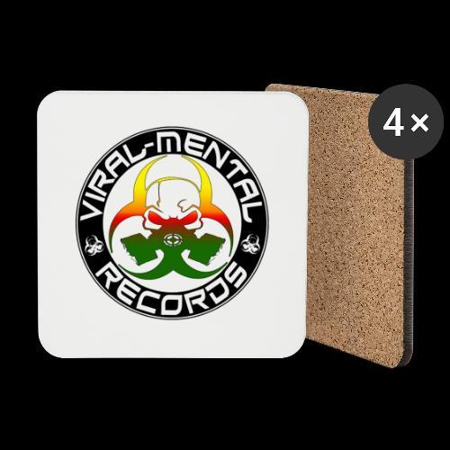 Viral Mental Records Logo - Coasters (set of 4)