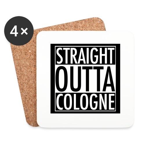 Straight Outta Cologne - Untersetzer (4er-Set)