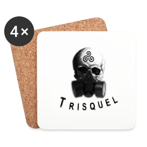 Trisquel Negro - Posavasos (juego de 4)