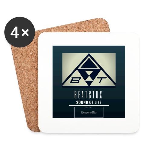Beatstux - Sottobicchieri (set da 4 pezzi)