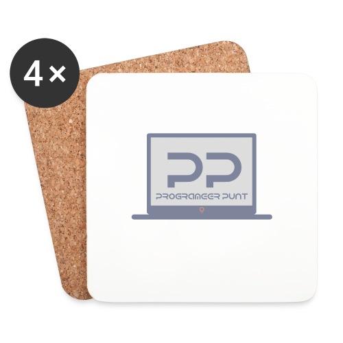 muismat met logo - Onderzetters (4 stuks)