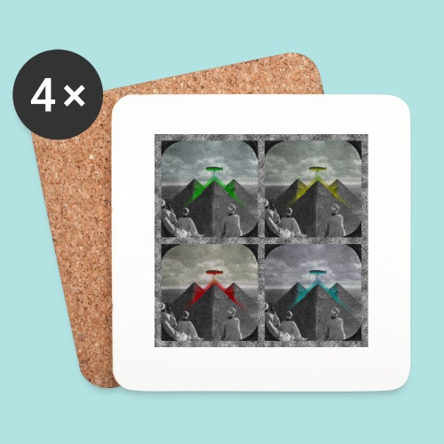 Invasion of the Giza Tombs - Coasters (set of 4)
