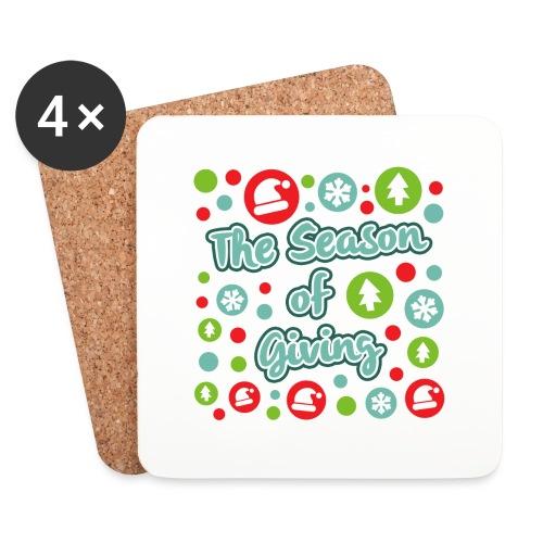 The Season of Giving - Coasters (set of 4)