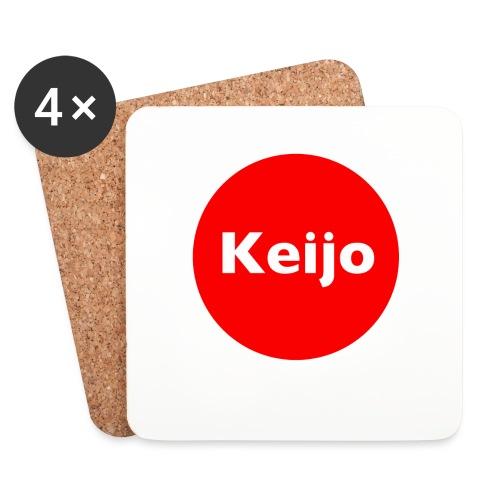 Keijo-Spot - Lasinalustat (4 kpl:n setti)