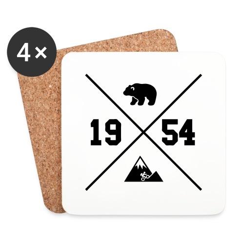 Karhuvuori -baseballhuppari - Lasinalustat (4 kpl:n setti)