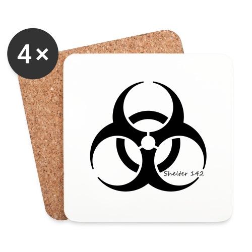 Biohazard - Shelter 142 - Untersetzer (4er-Set)