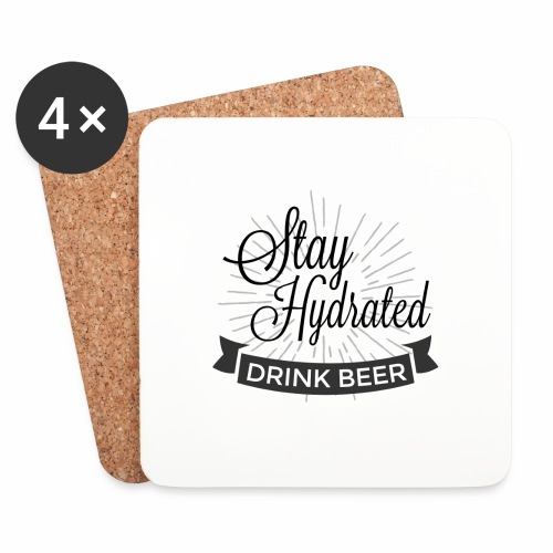 Stay Hydrated - Coasters (set of 4)