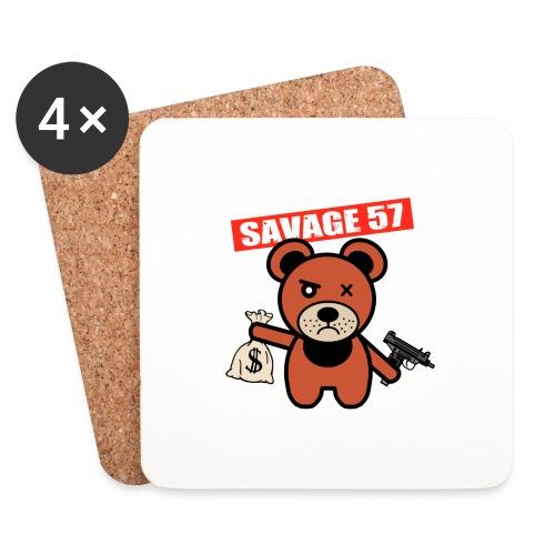 Savage 57 - Dessous de verre (lot de 4)