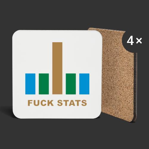 F*CK Stats - Dessous de verre (lot de 4)