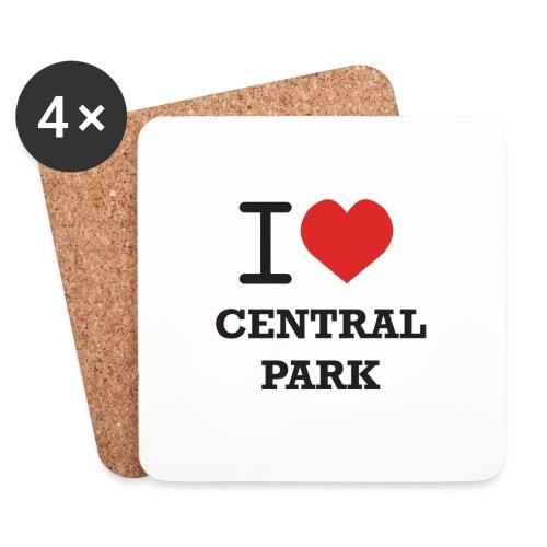 keskuspuisto - Lasinalustat (4 kpl:n setti)