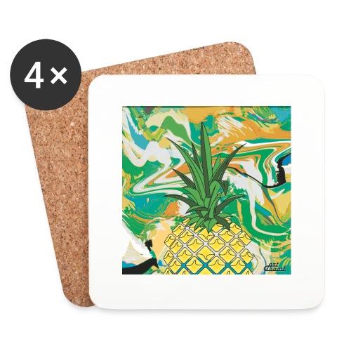Pineapple Bag - Dessous de verre (lot de 4)