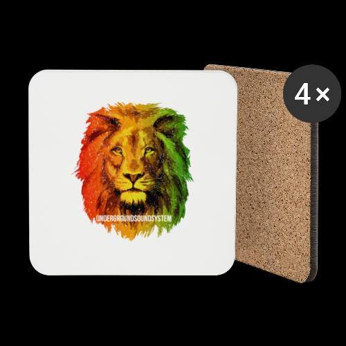THE LION OF JUDAH - Untersetzer (4er-Set)