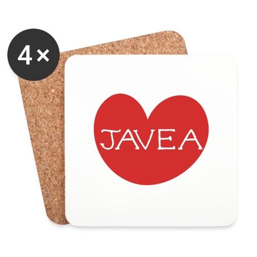 LOVE JAVEA - Posavasos (juego de 4)