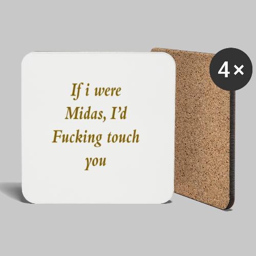I hate you, basically. - Coasters (set of 4)