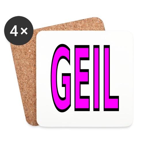 Holgator Geil - Untersetzer (4er-Set)