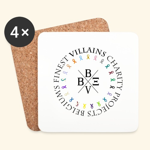 BVBE Charity Projects - Coasters (set of 4)