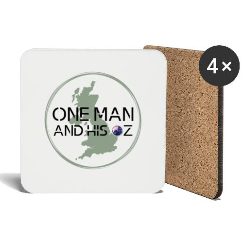 One Man and his Oz Logo - Coasters (set of 4)