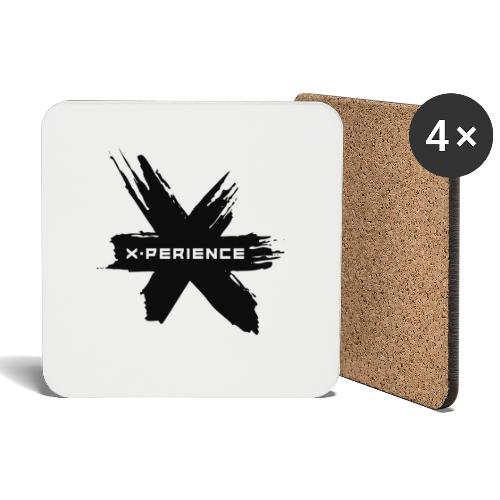x-perience - Das neue Logo - Untersetzer (4er-Set)