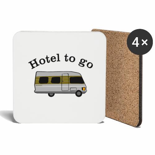 Hotel to go - Untersetzer (4er-Set)