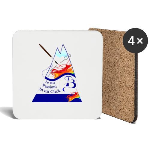 Logo colori - Sottobicchieri (set da 4 pezzi)