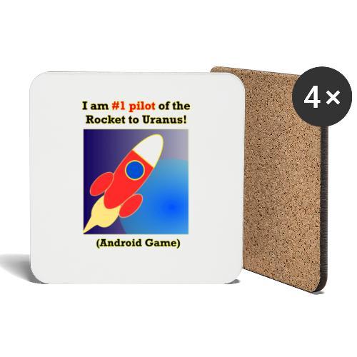 Rocket to Uranus - Lasinalustat (4 kpl:n setti)