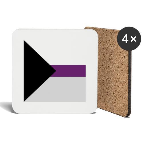 Demisexuell Flagge - Untersetzer (4er-Set)
