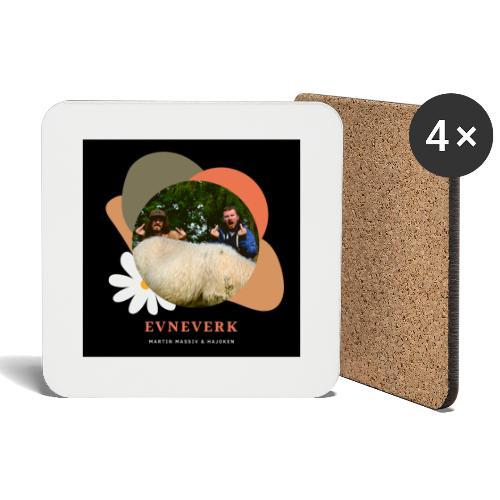 Evneverk Sheep Design - Brikker (sett med 4)