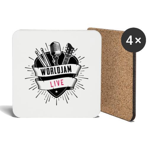 WorldJam Live - Coasters (set of 4)