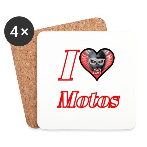 ilovemotos - Posavasos (juego de 4)