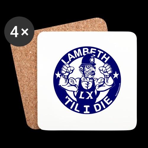 LAMBETH - NAVY BLUE - Coasters (set of 4)