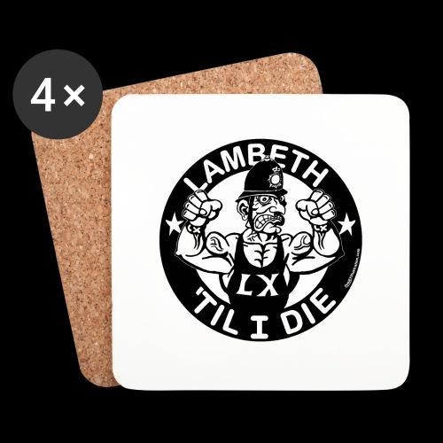 LAMBETH - BLACK - Coasters (set of 4)