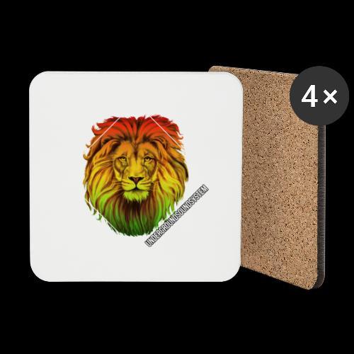 LION HEAD - UNDERGROUNDSOUNDSYSTEM - Untersetzer (4er-Set)