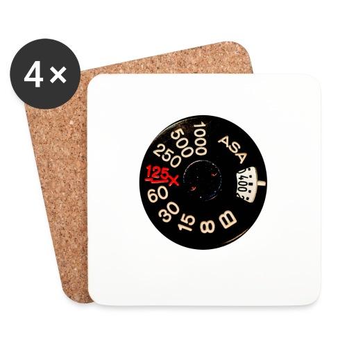 Manual Camera - Sottobicchieri (set da 4 pezzi)