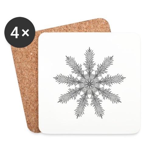 Magic Star Tribal #4 - Coasters (set of 4)