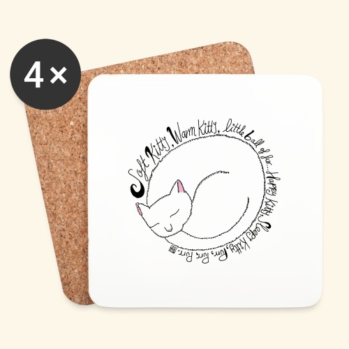 Soft kitty - Posavasos (juego de 4)