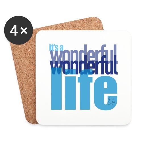 It's a wonderful life blues - Coasters (set of 4)