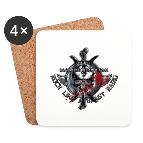 Blood Skull Logo - Underlägg (4-pack)