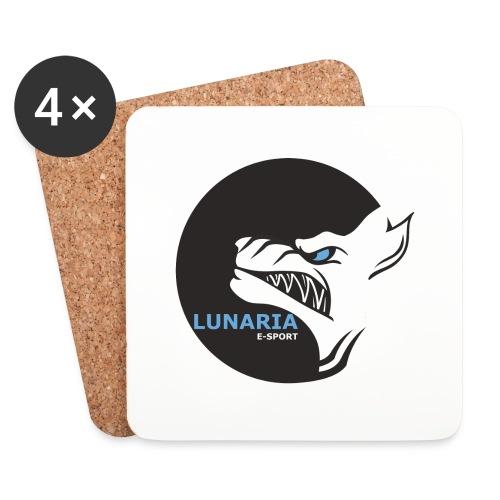 Lunaria_Logo tete pleine - Dessous de verre (lot de 4)