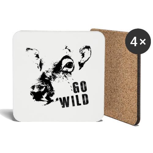 Go Wild - Untersetzer (4er-Set)
