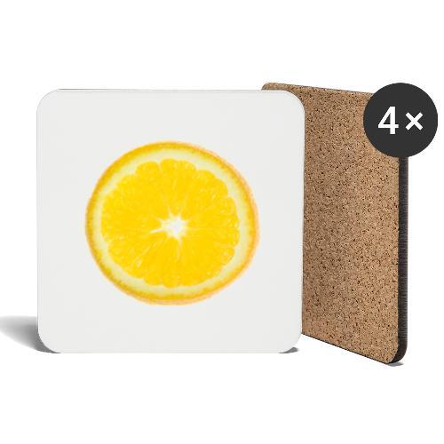 Orange - Untersetzer (4er-Set)