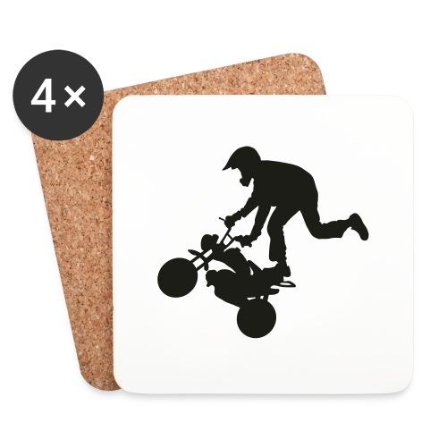 Monkey keulii - Lasinalustat (4 kpl:n setti)