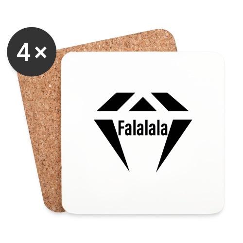 J.O.B Diamant Falalala - Untersetzer (4er-Set)